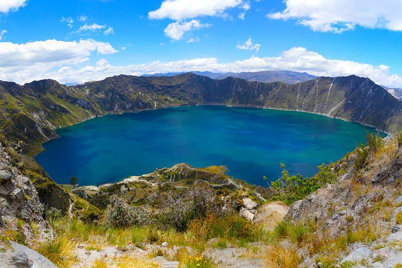 Laguna del <br>Quilotoa